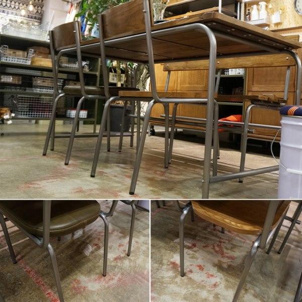 アンティーク系の学校椅子