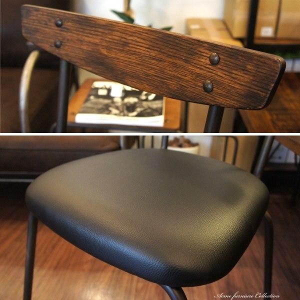 ACME Furnitureのアイアンと無垢材のオシャレな椅子