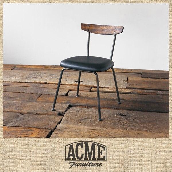 ACME Furniture アイアンのヴィンテージ調チェア