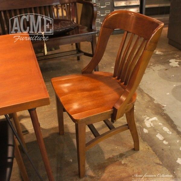 アメリカンヴィンテージ系おしゃれチェアのACME Furniture(アクメファニチャー) BANK CHAIR