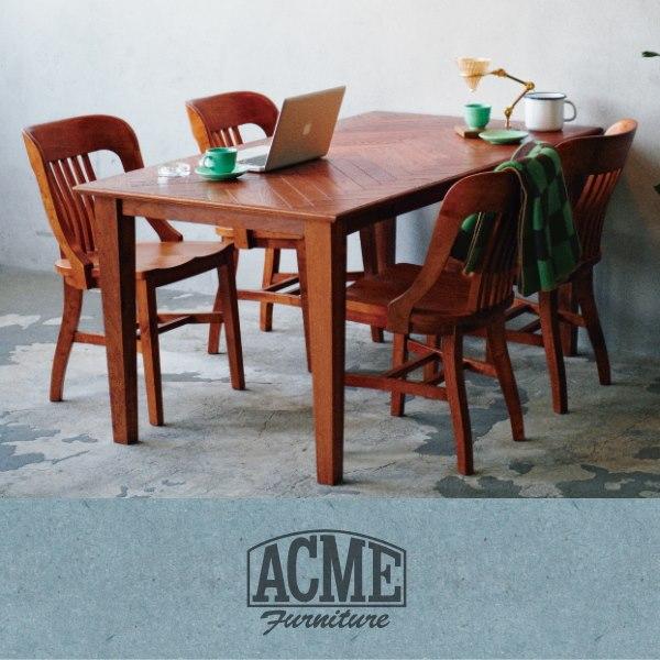 ACME Furniture(アクメファニチャー)の椅子とダイニングテーブル