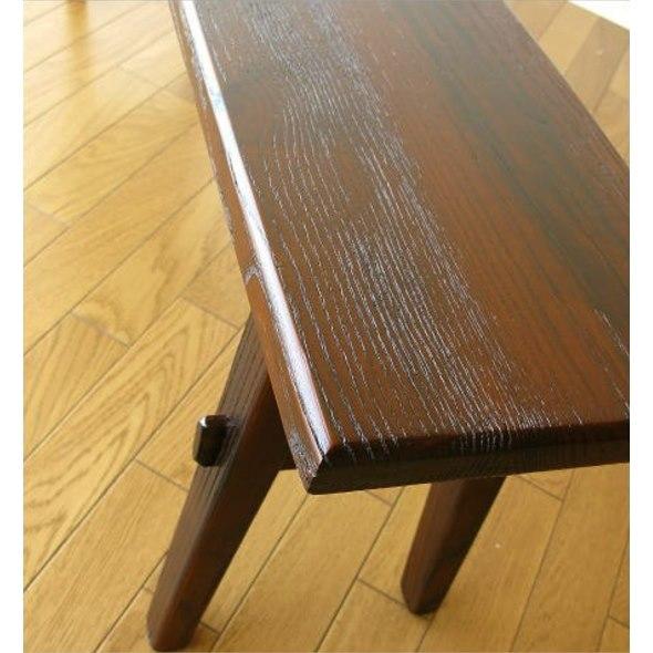 幅120㎝木製ベンチ