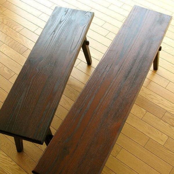 幅90㎝木製ベンチ