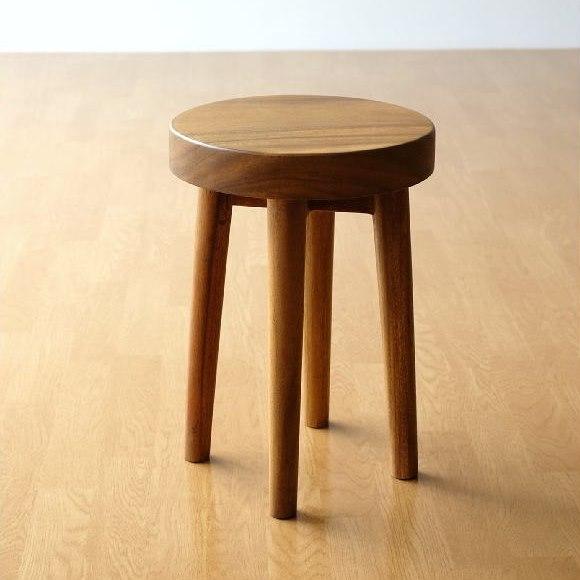 ドレッサーに合う木製スツール
