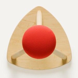 COSINE 赤い帽子のキッチンスツール