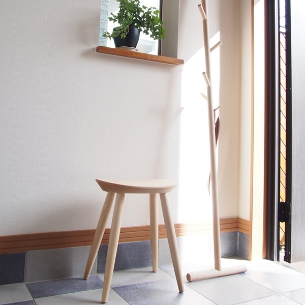 玄関の椅子 エントランススツール