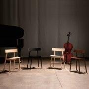 チェロ椅子 ハーフチェア