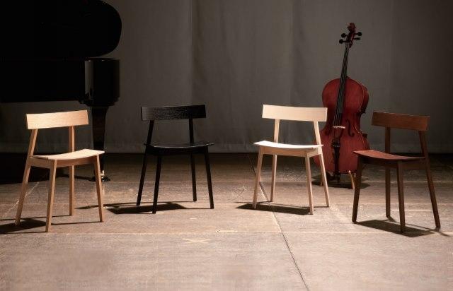チェロ椅子 楽器弾きに合うおしゃれチェア