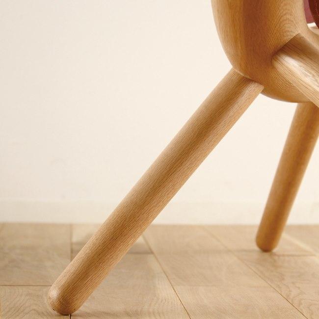 椅子のナラ無垢材脚