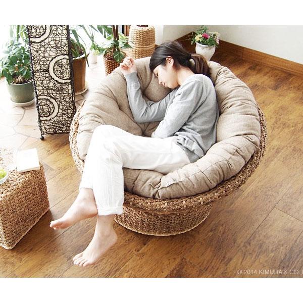 アジアンな椅子のパパサンチェア