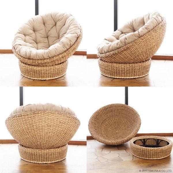 アジアン家具のパパサンチェア