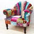 ON&ON ベルベットの椅子