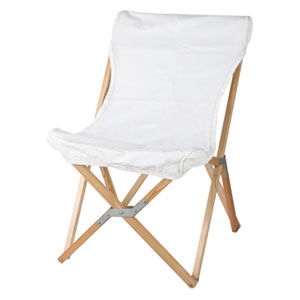 DULTON WOODEN BEACH CHAIR | ホワイト