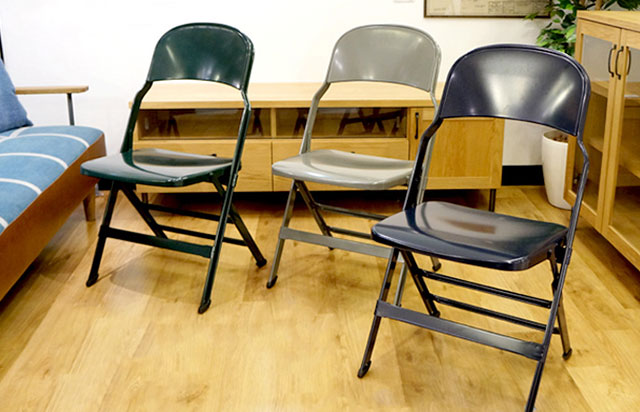 CLARIN(クラリン) ALL STEEL FOLDING CHAIR