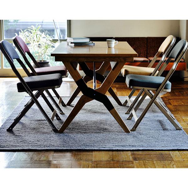 CLARIN(クラリン) クッション付き折りたたみ椅子