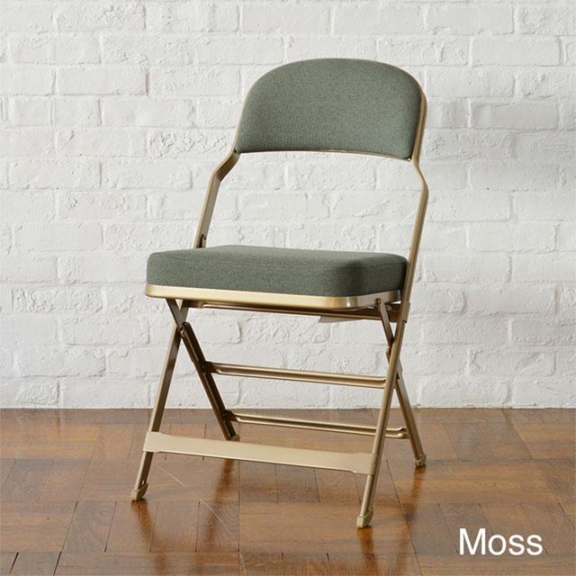 CLARIN(クラリン) フルクッション フォールディングチェア | Moss モスグリーン