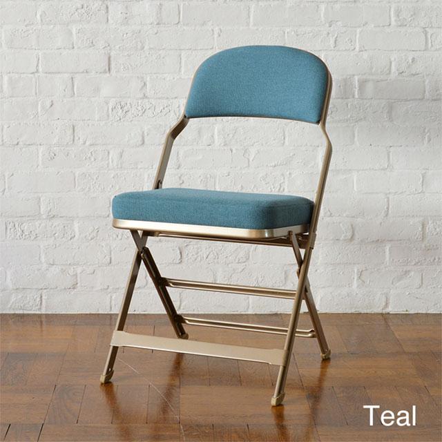 CLARIN(クラリン) フルクッション フォールディングチェア | Teal ブルー