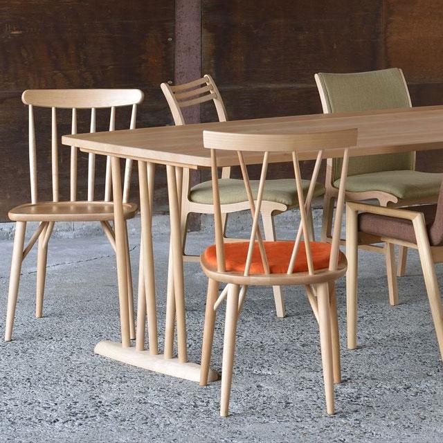 ミキモク椅子 カエデノモリ KMC-718