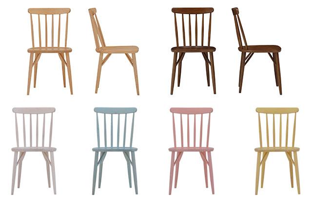 シンプルでおしゃれな木の椅子