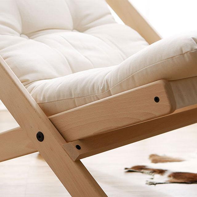 デンマークの椅子でくつろぐ