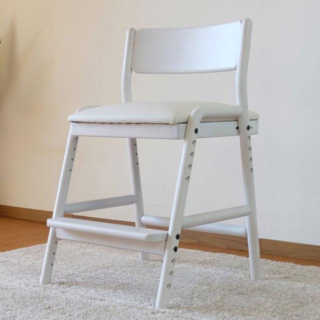 ISSEIKI 学習椅子 フィオーレ・デスクチェア ホワイト