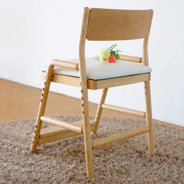 ISSEIKI 学習椅子 フィオーレ・デスクチェア ナチュラル