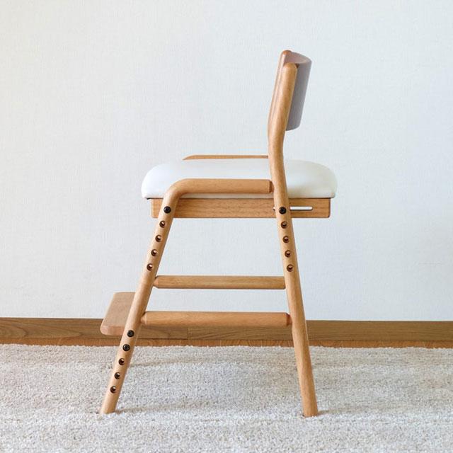 ISSEIKI 学習椅子 フィオーレ・デスクチェアの側面