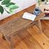 幅70㎝の木製ベンチ