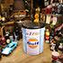 世田谷ベース系インテリアとオイル缶スツール