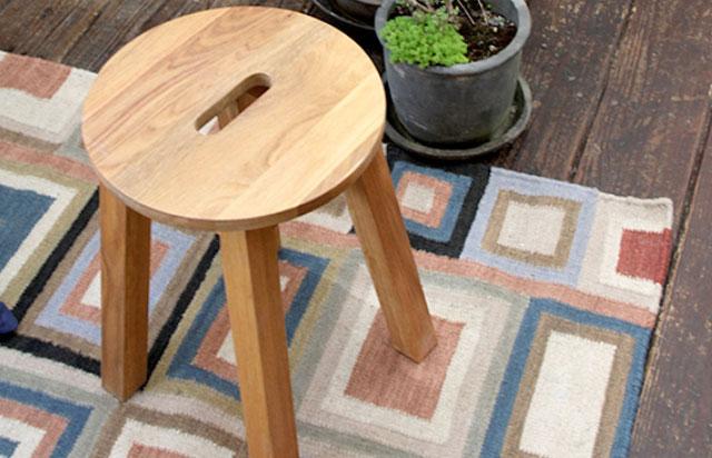 オーク無垢材の安くて良い椅子