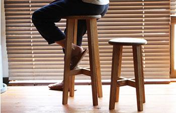 松野屋 日本の丸椅子