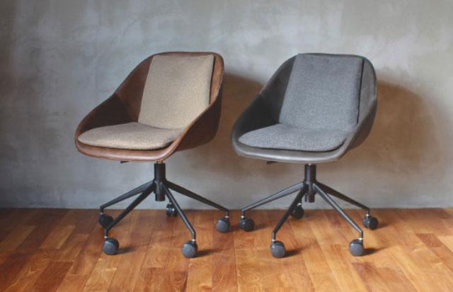 おしゃれな書斎で使う椅子 パニッシュ・オフィスチェア