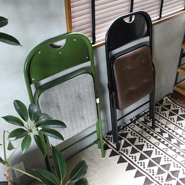 折りたたみ式パイプ椅子のおしゃれ版