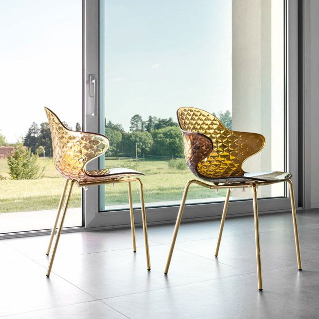 Calligaris Saint Tropez CS1845 アンバー