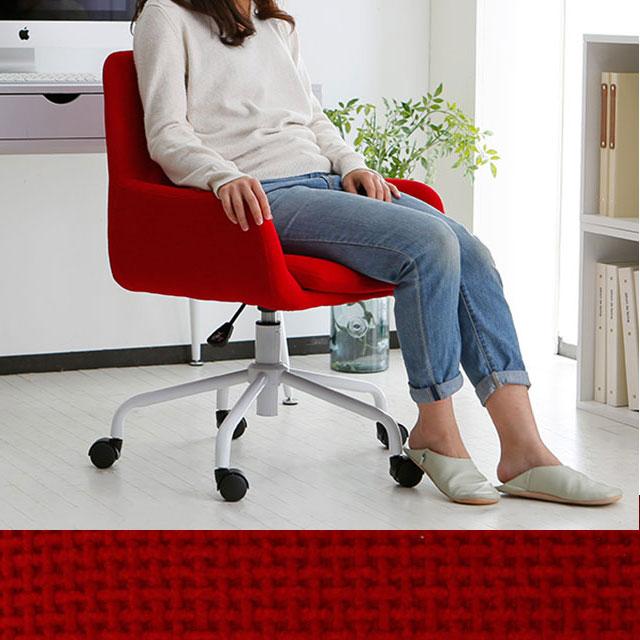 赤いオフィスチェア