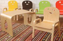 子ども用の机と椅子のセット NICCORI