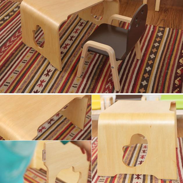 こども2歳児の椅子と机