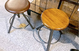 CHINON STOOL WOOD