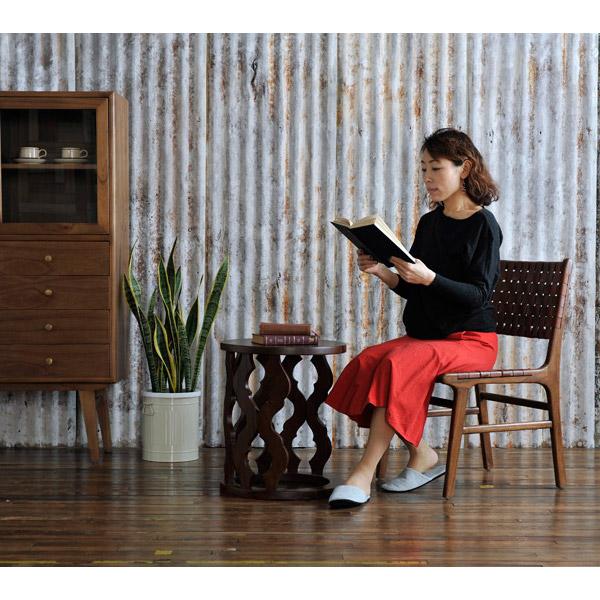 アスリー Waved Leather Chair