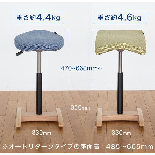 バランスシナジーのサイズと座面の形