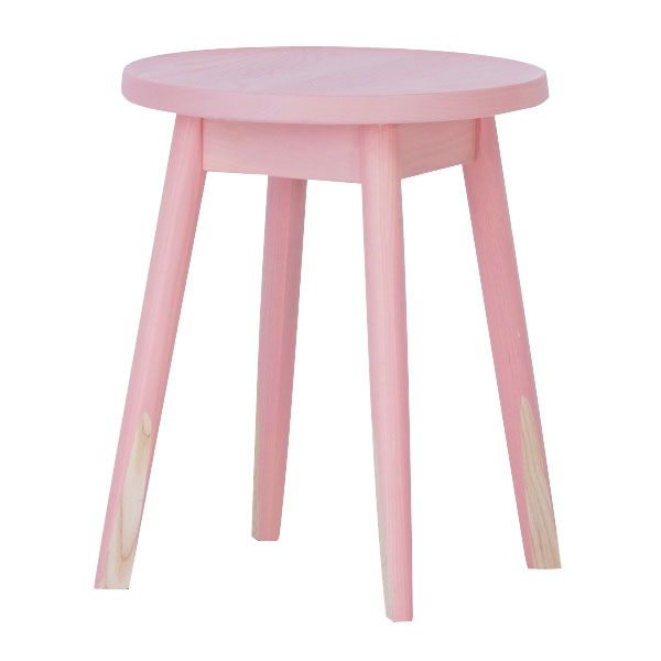 PENCIL STOOL ピンク