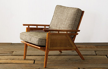 ACME Furniture WICKER LOUNGE CHAIR
