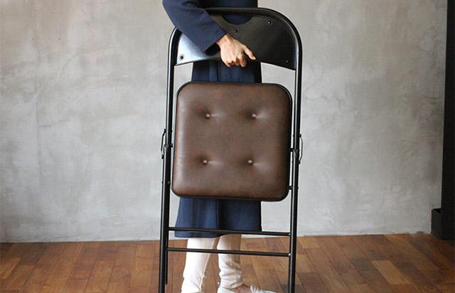 1万ちょっとで買えるカッコイイ折りたたみ椅子