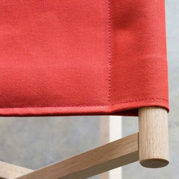 おしゃれな折りたたみ椅子|レッド