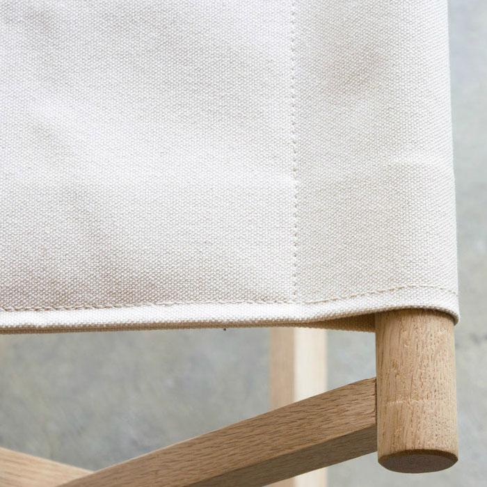 おしゃれな折りたたみ椅子|ホワイト