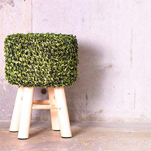葉っぱの椅子